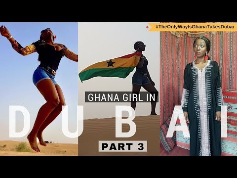 Where To Go In Dubai | Ghana Girl In Dubai VLOG Part 3