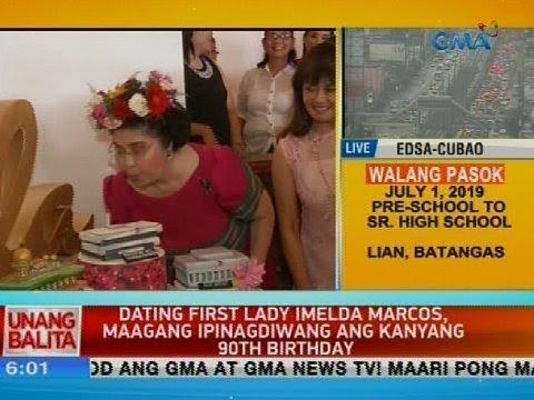 UB: Dating First Lady Imelda Marcos, Maagang Ipinagdiwang Ang Kanyang 90th Birthday