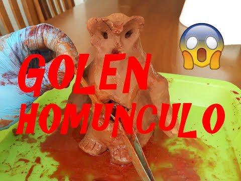 GOLEM HOMUNCULO ¿ REAL ?