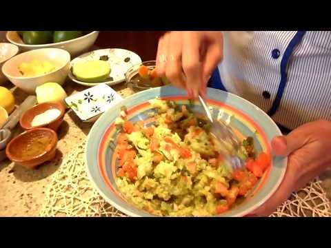 Dip Z Awokado Guacamole Kuchnia Meksykanska Youtube