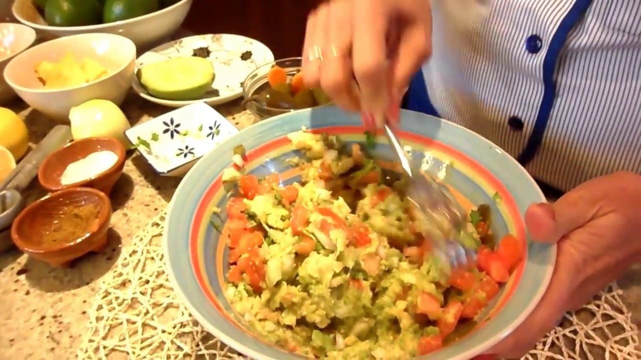 Dip Z Awokado Guacamole Kuchnia Meksykanska