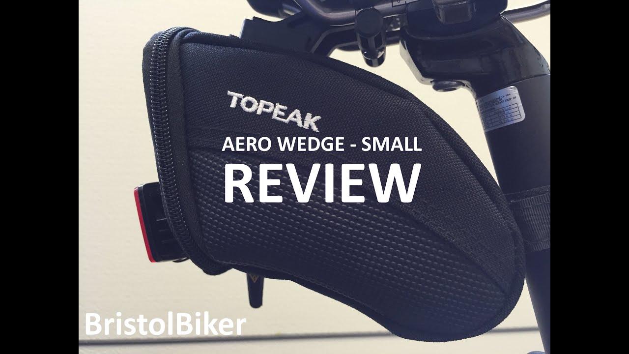 Topeak Aero Wedge Pack Strap Micro Satteltasche - Bike24