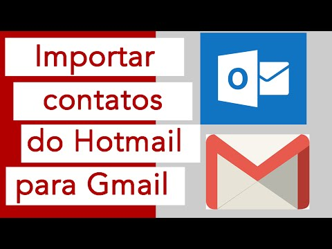 Como importar contatos do Outlook.com para Gmail
