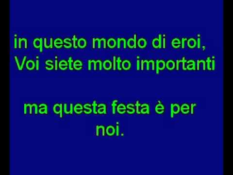 Karaoke - Antonello Venditti - In Questo Mondo Di Ladri
