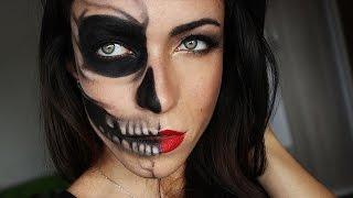 Half Skull Glamour Mak