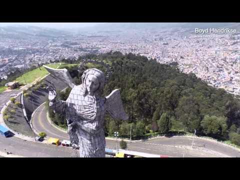 """""""El Panecillo"""" (Película aérea) Quito-Ecuador"""
