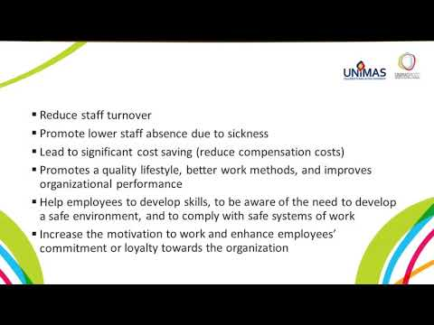 LU1 Introduction to Occupational Safety and Health Management