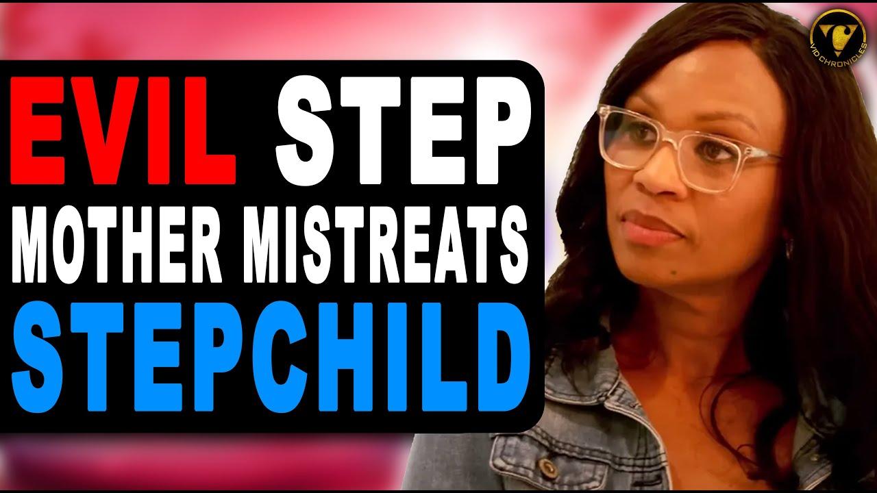 EVIL Step Mother Mistreats Stepchild, Watch What Happens.