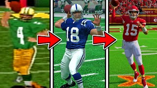 Playing Every Madden NFL Game in ONE Video!