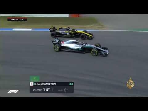 فوز البريطاني هاميلتون بسباق جائزة ألمانيا الكبرى  - نشر قبل 9 ساعة