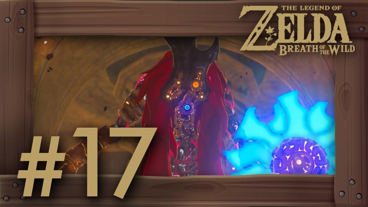Zelda Breath Of The Wild Walkthrough Part 17 Vah Naboris Dungeon Thunderblight Ganon
