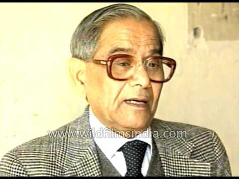 Prof. B B Lal, Director Project: Archeological survey of Ramayan Sites, on Babri Masjid