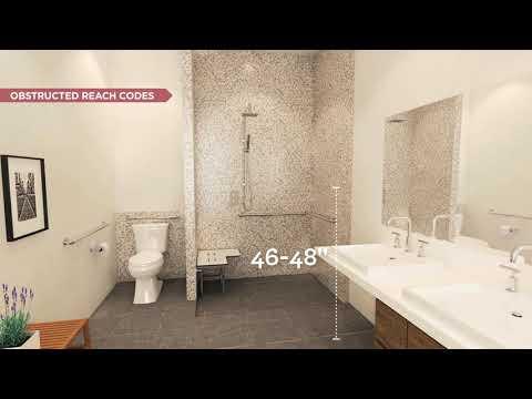 Seachrome - How to design an ADA compliant bathroom