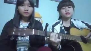 Su Bé & Phượng Ngọc cover guitar - gió vẫn hát