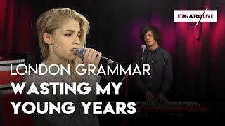 Repeat youtube video London Grammar - Wasting My Young Years - Le Live