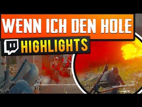 GLÜCKS SCHUSS?! - Twitch Stream Highlights (Playerunknowns BATTLEGROUNDS)