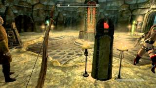 Let's play The Elder Scrolls V Skyrim Dragonborn Часть 29 Гробница Валока