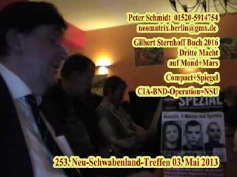 Schmidt 3.Macht auf Mond+Mars CIA-BND-Operation=NSU 253. Neuschwabenland-Treffen