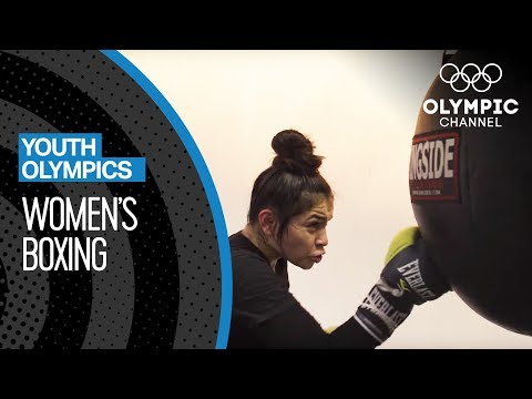 Women's Junior World Champion Boxer Is Ready For A Gold Medal Round! | Youth Olympic Games