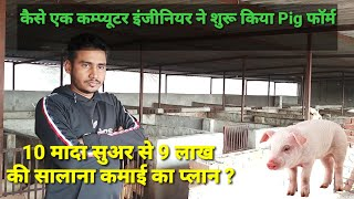 How to start a pig farm with small budget in india