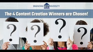 👨‍🏫 The 4 Content Creation Winners are Chosen