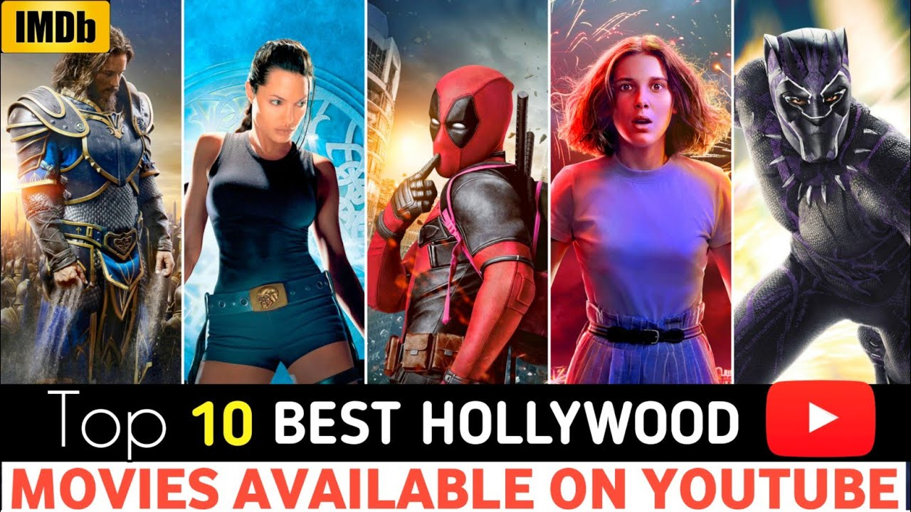 Download Top 10 Latest Hollywood Hindi Dubbed Movies | Available On YouTube