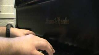 """""""You Are Mine"""" on piano"""
