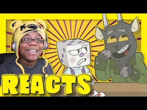 Little King Dice Cuphead Comic Dub by Shavs Media Productions | Animation Reaction