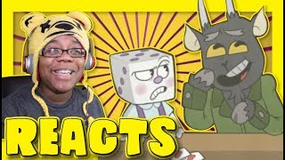 Little King Dice Cuphead Comic Dub by Shavs Media Productions   Animation Reaction