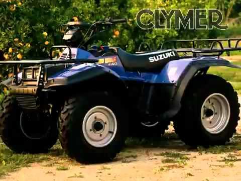 clymer manual kawasaki bayou klf220 klf250 maintenance rh youtube com