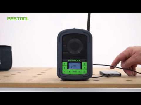 Радиоприёмник BR10 Festool (FM, MP3, Aux)