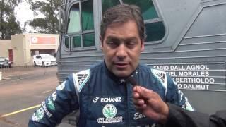 Marcos Ligato - Entrevista final (em espanhol) - Rally de Erechim 2017