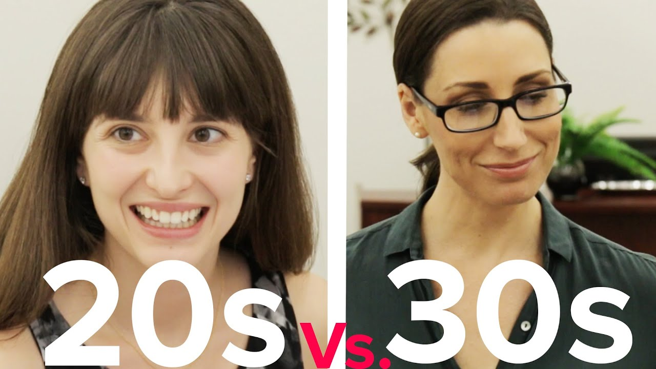 Dating in your 20s vs 30s