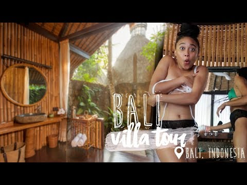BALI VILLA TOUR + FIRST TIME AT A BALINESE SPA
