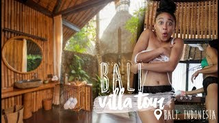 BALI VILLA TOUR + FIRST TIME AT A BALINESE SPA