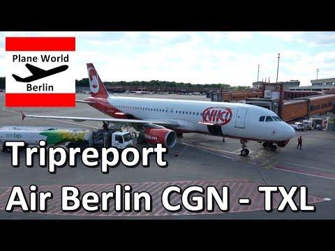 Trip Report | Air Berlin Airbus A320 | Economy Silver | CGN - TXL