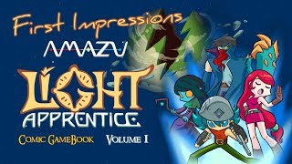 First Impressions - Light Apprentice: The Comic Book RPG