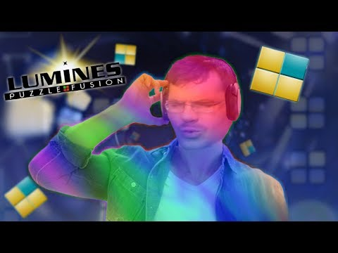 Lumines Livestream! Full Loop Playthrough!