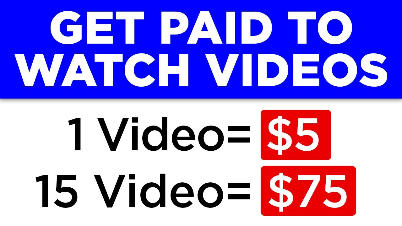 Earn $75 Your FIRST DAY Watching Videos Online (Make Money Online in 24 Hours)