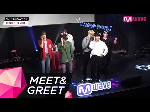 [MEET&GREET] VIXX's perfect double speed dance