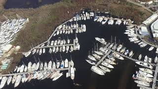9/17/17 Aerial Footage Sapphire past Red Hook St Thomas USVI after Hurricane Irma