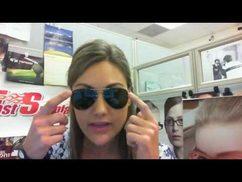 ray ban aviator 55  Ray-Ban RB3460 Flip Out Aviator Sunglasses Review - YouTube