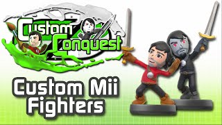 Custom Conquest #1 - Make your Mii Amiibo