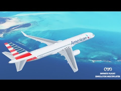 Infinite Flight Global American Airlines B757 - 200 - Miami to St Maarten