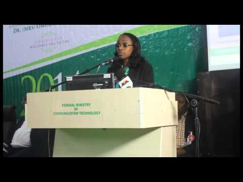 MP2014: Presentation by the Minister of Communication Technology, Omobola Johnson