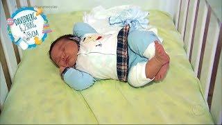 Bebê surpreende médicos e nasce com 6 quilos em maternidade do Rio