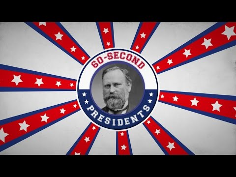 Rutherford B. Hayes | 60-Second Presidents | PBS