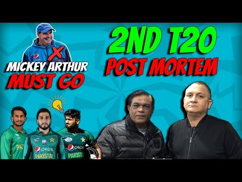 Mickey Arthur Must Go | 2nd T20 post Mortem | Caught Behind