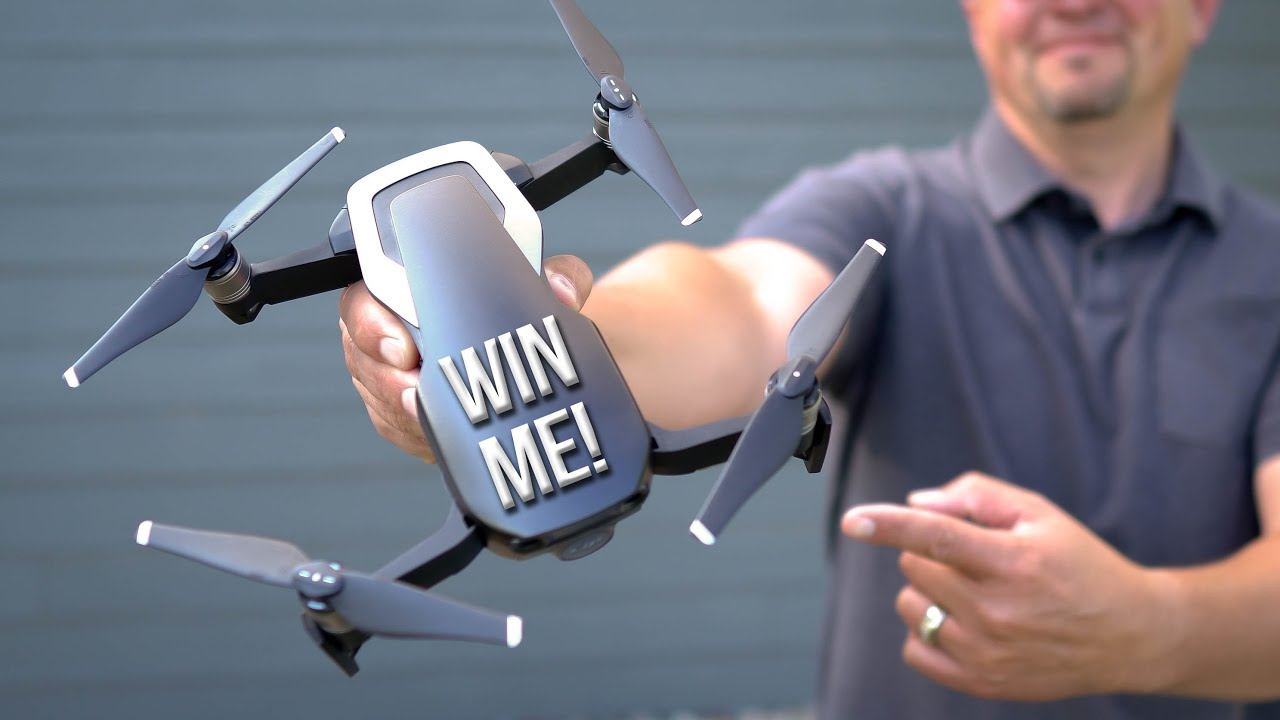 100,000 Subscriber Giveaway - Mavic Air Package