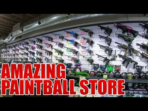 The Most Amazing Paintball Store in the World - ANS Warehouse Tour - 2017 - Ansgear.com